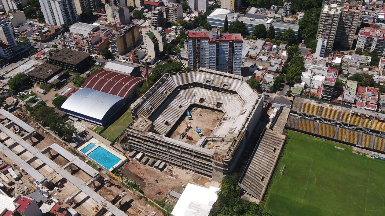 nuevos estadios en la ciudad