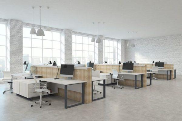 cambio en el diseño de oficinas