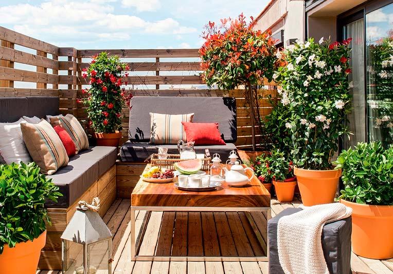 Cómo aprovechar tus ambientes al aire libre