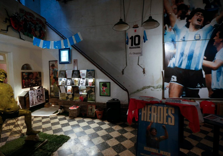 La casa de Maradona