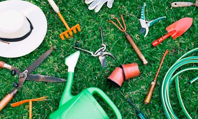 Herramientas para cuidar el jardín