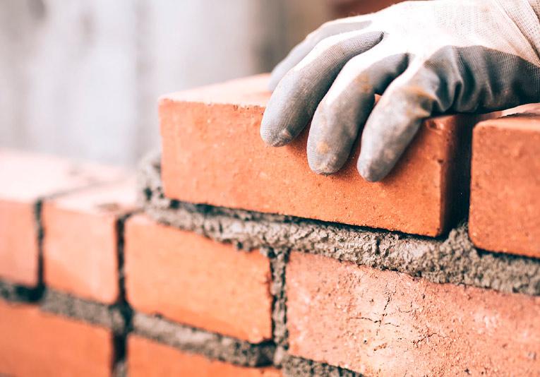 Blanqueo para la construcción