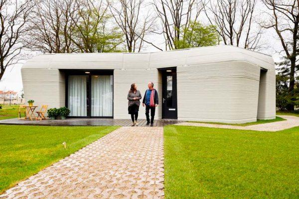 Casa impresa totalmente en 3D