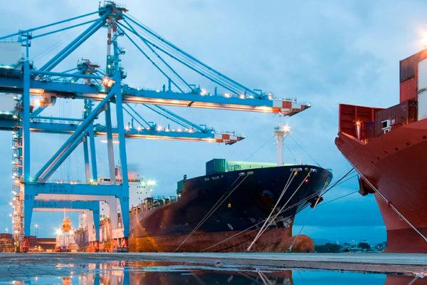 Balance positivo en comercio exterior